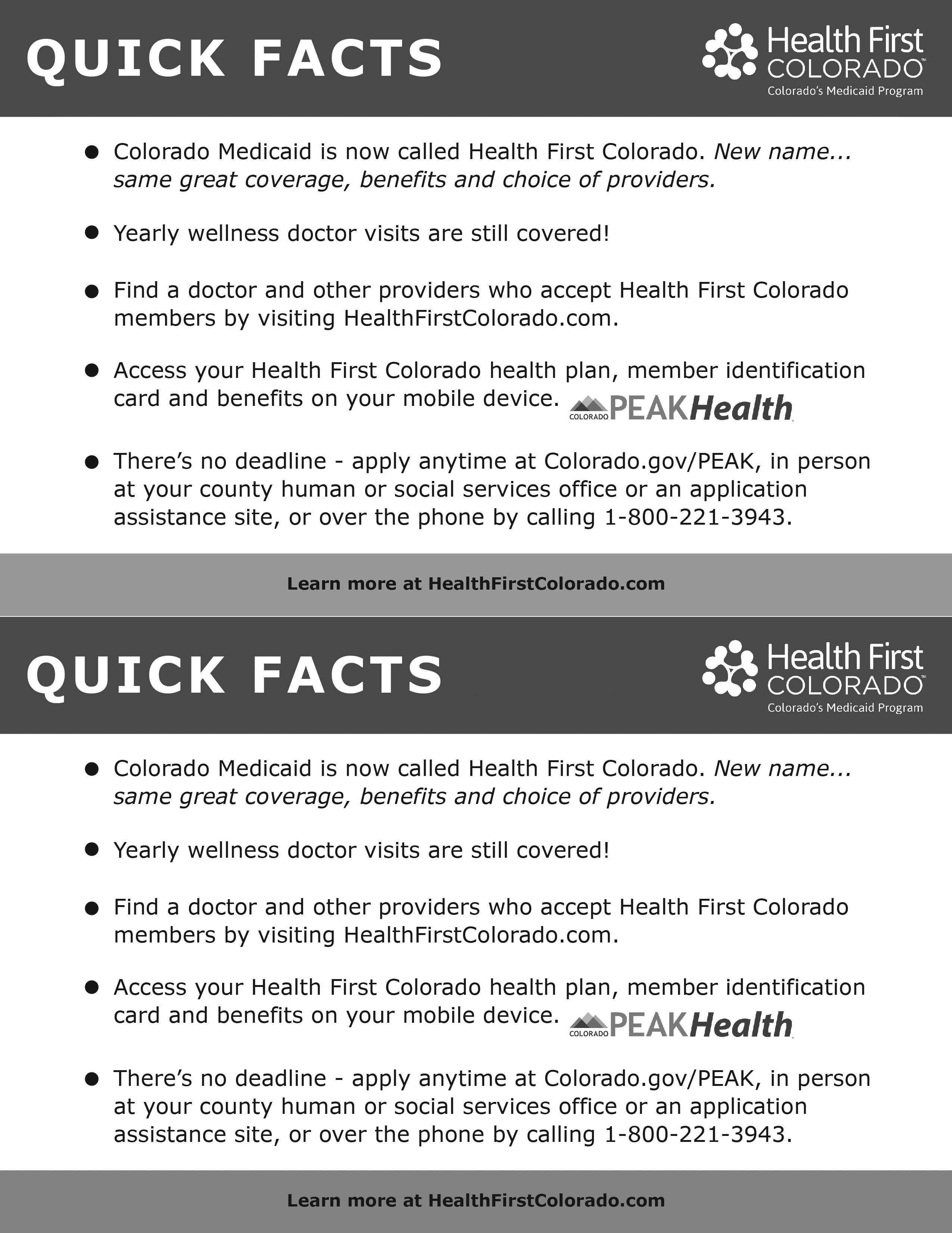 News & Resources - Health First Colorado
