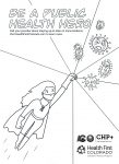Public Health Hero Coloring Sheet